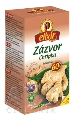 AGROKARPATY ZÁZVOR proti chrípke bylinný čaj balené vrecúška 20x1,5 g
