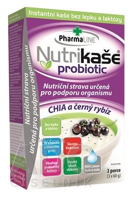 Nutrikaša probiotic - CHIA a čierna ríbezla 3x60 g