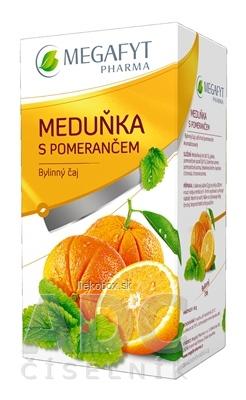 Megafyt Bylinný čaj Medovka s pomarančom 20x2g