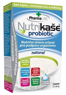 Nutrikaša probiotic natural 3x60 g