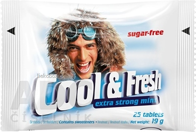 Cool&Fresh Extra Strong 25 tbl