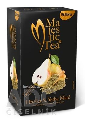 Biogena Majestic Tea Hruška & Yerba Maté ovocný čaj 20x2 5 g
