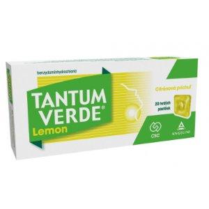 Tantum VERDE Lemon pastilky 20 ks