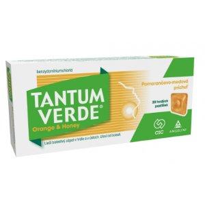 Tantum VERDE Orange & Honey pastilky 20 ks