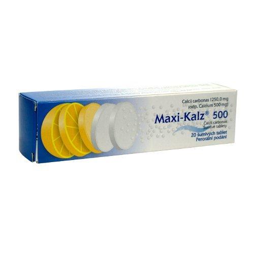 MAXI-KALZ 500mg 20 tbl