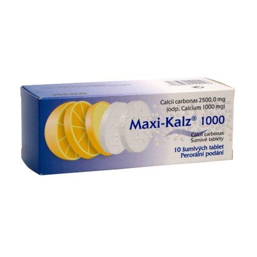 MAXI-KALZ 1000mg 10 tbl