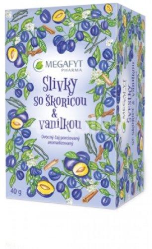 MEGAFYT SLIVKY so škoricou & vanilkou ovocný čaj 20x2 g