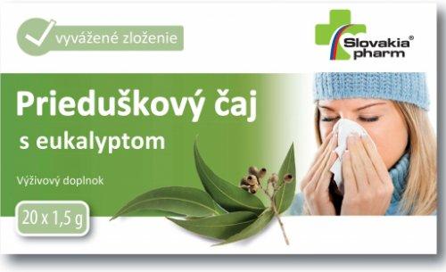 Slovakiapharm Prieduškový čaj s eukalyptom 20x1,5g