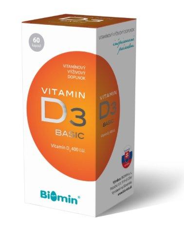 Biomin Vitamin D3 Forte 1000 I.U. 60 tbl