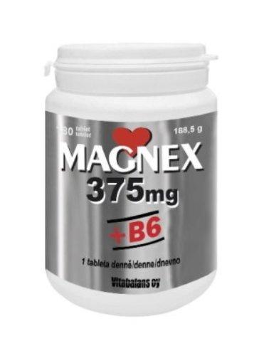 Magnex 375 mg + B6 180 tbl