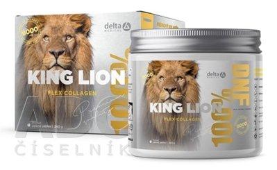 DELTA KING LION Flex Collagen 8000mg príchuť zelené jablko 240 g