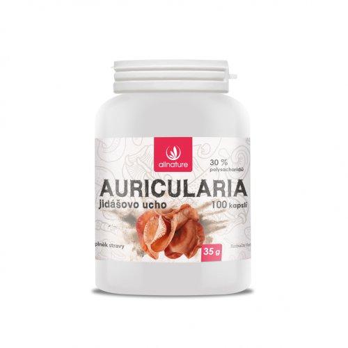 Allnature Auricularia Jidášovo ucho 100 cps