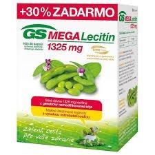 GS MegaLecitín 1325 cps 100+30 zadarmo