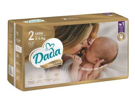 DADA Extra Care MINI, veľ. 2, 43 ks