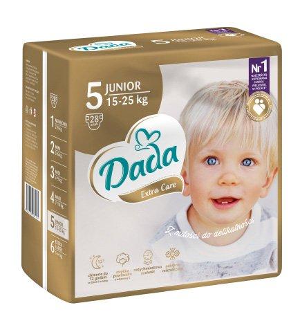DADA Extra Care JUNIOR, veľ. 5, 28 ks