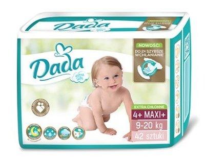 DADA Extra Soft MAXi 4+, 42 ks