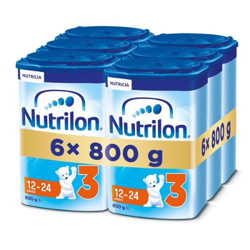 NUTRILON 3 (6x800g) - dojčenské mlieko