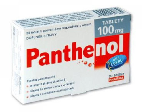 Dr. Müller PANTHENOL 100 mg 24 tbl