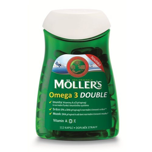 MÖLLER´S Omega 3 Double 112 cps