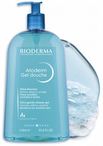 BIODERMA Atoderm Gel douche sprchový gél 1 l