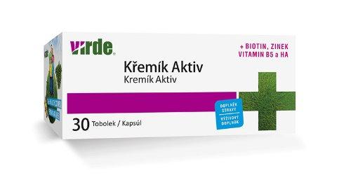 VIRDE Kremík Aktiv 30 ks