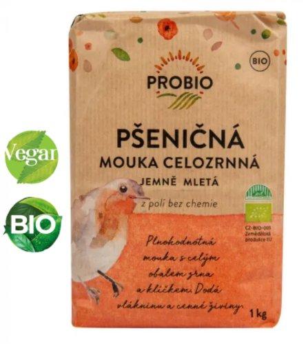 BIO Pšeničná celozrnná jemná múka - Probio 1000 g