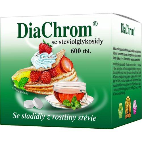 DiaChrom so stéviou 600 tbl