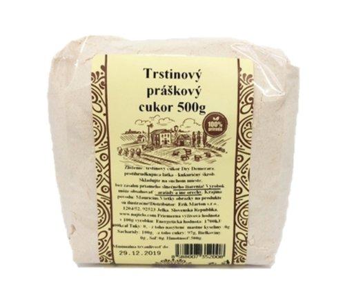 NAJTELO Trstinový práškový cukor 500 g