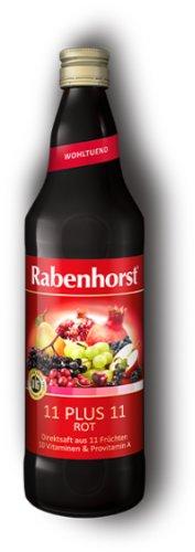 RABENHORST 11 plus 11 červený multivitamín 750 ml