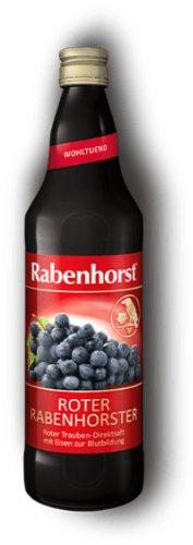 RABENHORST BIO Červené hrozno+železo 750 ml
