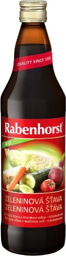 RABENHORST BIO Zeleninová šťava 750 ml