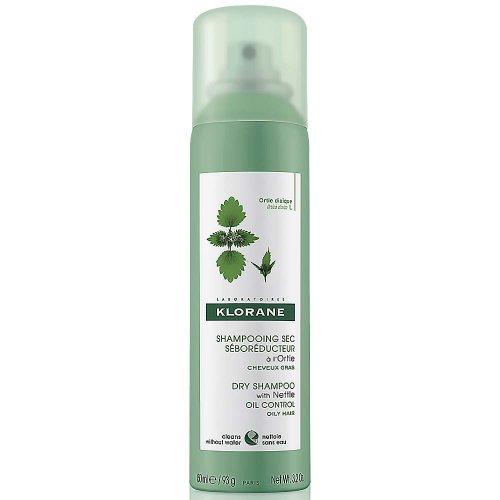 KLORANE suchý šampón s výťažkom zo žihľavy na mastné vlasy 150 ml