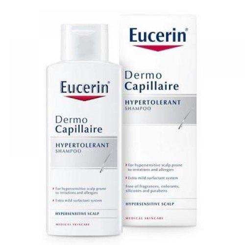 Eucerin DermoCapillaire Hypertolerantný šampón na citlivú a alergickú pokožku 250 ml