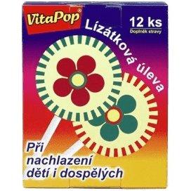 VitaPop lízanka pri nachladnutí detí aj dospelých 12 ks
