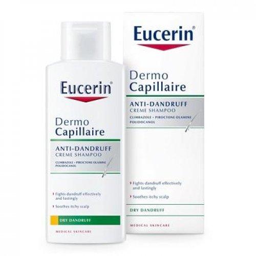 Eucerin DermoCapillaire proti suchým lupinám šampón 250 ml