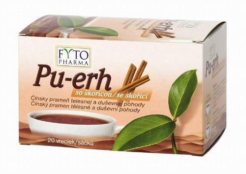 FYTO PU-ERH SO ŠKORICOU 20x1,5 g