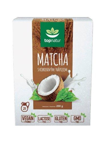 Topnatur MATCHA S KOKOSOVÝM NÁPOJOM prášok 200 g