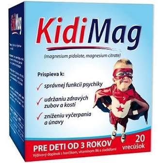 Zdrovit KidiMag vrecúška 20 ks