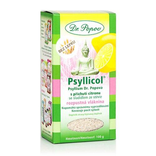 DR. POPOV PSYLLICOL CITRON rozpustná vláknina 100 g