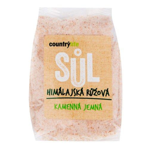 COUNTRY LIFE Soľ himalájska ružová jemná 500 g