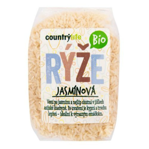 COUNTRY LIFE Ryža jazmínová 500 g BIO