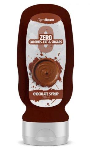 GymBeam Bezkalorický sirup Chocolate Syrup 320 ml