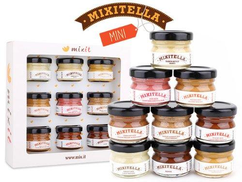 MIXIT Degustačné minimixitelly 9 ks DARČEKOVÁ sada