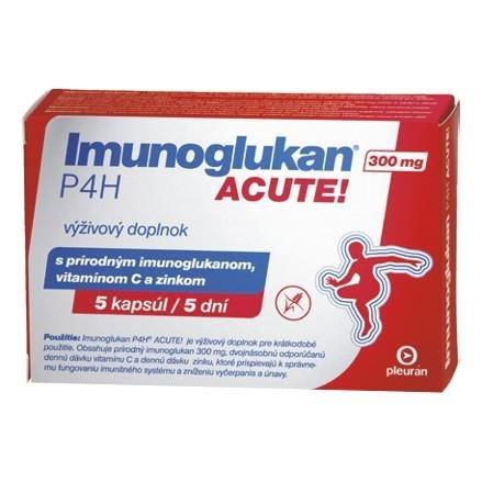 Imunoglukan P4H ACUTE 300 mg 5 kapsúl