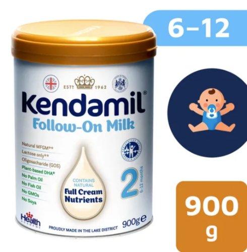 Kendamil následné mlieko 2 900g DHA+
