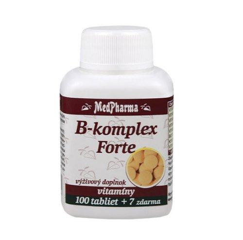 MedPharma B-komplex Forte 100+7tbl zadarmo