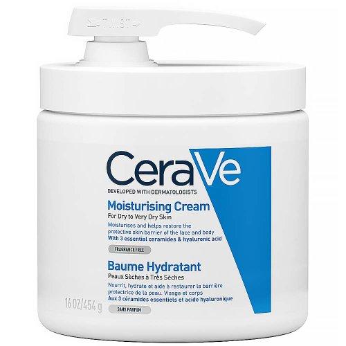 CeraVe Hydratačný krém s pumpičkou 454 g