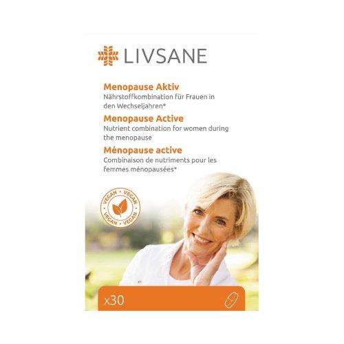 LIVSANE Podpora pre ženy v klimaktériu 30 ks