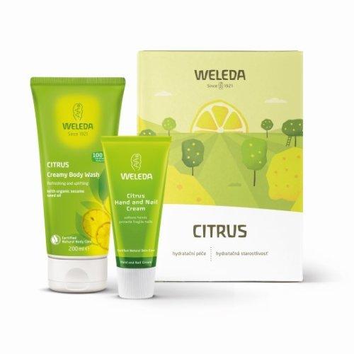 WELEDA Citrusový hydratačný set 50 ml + 200 ml