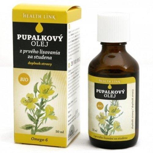 HEALTH LINK Pupalkový olej BIO 50 ml